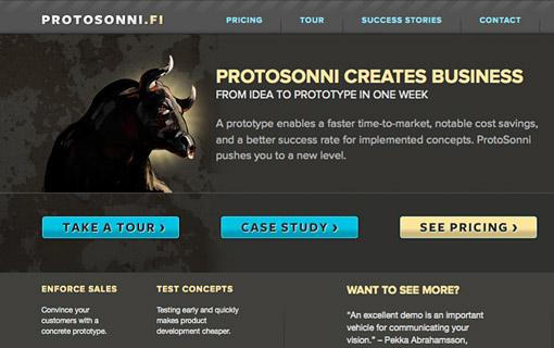Protosonni web site